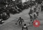 Image of basketball match New York United States USA, 1950, second 58 stock footage video 65675062747