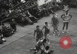 Image of basketball match New York United States USA, 1950, second 59 stock footage video 65675062747