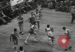 Image of basketball match New York United States USA, 1950, second 60 stock footage video 65675062747