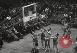 Image of basketball match New York United States USA, 1950, second 62 stock footage video 65675062747