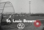 Image of St Louis Browns baseball team at spring training United States USA, 1950, second 2 stock footage video 65675062752