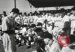 Image of Detroit Tigers baseball team Florida United States USA, 1950, second 4 stock footage video 65675062754