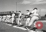 Image of Detroit Tigers baseball team Florida United States USA, 1950, second 13 stock footage video 65675062754