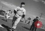 Image of Detroit Tigers baseball team Florida United States USA, 1950, second 17 stock footage video 65675062754
