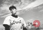 Image of Detroit Tigers baseball team Florida United States USA, 1950, second 21 stock footage video 65675062754