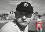 Image of Detroit Tigers baseball team Florida United States USA, 1950, second 23 stock footage video 65675062754