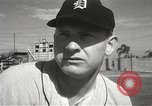 Image of Detroit Tigers baseball team Florida United States USA, 1950, second 24 stock footage video 65675062754