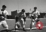 Image of Detroit Tigers baseball team Florida United States USA, 1950, second 25 stock footage video 65675062754