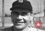 Image of Detroit Tigers baseball team Florida United States USA, 1950, second 28 stock footage video 65675062754