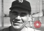 Image of Detroit Tigers baseball team Florida United States USA, 1950, second 29 stock footage video 65675062754
