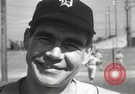 Image of Detroit Tigers baseball team Florida United States USA, 1950, second 30 stock footage video 65675062754
