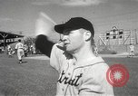 Image of Detroit Tigers baseball team Florida United States USA, 1950, second 40 stock footage video 65675062754