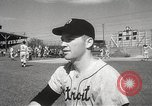 Image of Detroit Tigers baseball team Florida United States USA, 1950, second 41 stock footage video 65675062754
