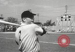 Image of Detroit Tigers baseball team Florida United States USA, 1950, second 43 stock footage video 65675062754