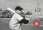 Image of Detroit Tigers baseball team Florida United States USA, 1950, second 44 stock footage video 65675062754