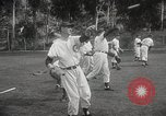 Image of Chicago Cubs baseball Spring Training Catalina Island California United States USA, 1950, second 20 stock footage video 65675062756