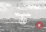 Image of naval cadets Virginia United States USA, 1954, second 1 stock footage video 65675062762