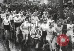 Image of 100 mile walking race United Kingdom, 1954, second 6 stock footage video 65675062763