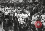 Image of 100 mile walking race United Kingdom, 1954, second 7 stock footage video 65675062763