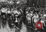 Image of 100 mile walking race United Kingdom, 1954, second 9 stock footage video 65675062763