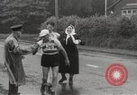 Image of 100 mile walking race United Kingdom, 1954, second 15 stock footage video 65675062763