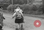 Image of 100 mile walking race United Kingdom, 1954, second 16 stock footage video 65675062763