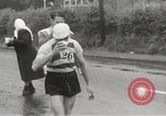 Image of 100 mile walking race United Kingdom, 1954, second 17 stock footage video 65675062763
