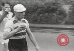 Image of 100 mile walking race United Kingdom, 1954, second 18 stock footage video 65675062763