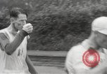 Image of 100 mile walking race United Kingdom, 1954, second 19 stock footage video 65675062763