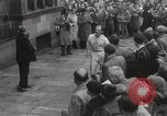 Image of 100 mile walking race United Kingdom, 1954, second 42 stock footage video 65675062763