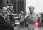 Image of 100 mile walking race United Kingdom, 1954, second 43 stock footage video 65675062763
