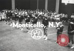 Image of exhibition match Monticello New York USA, 1954, second 2 stock footage video 65675062764