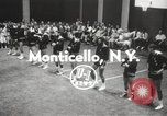 Image of exhibition match Monticello New York USA, 1954, second 4 stock footage video 65675062764