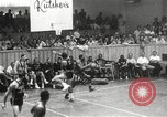 Image of exhibition match Monticello New York USA, 1954, second 45 stock footage video 65675062764