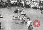 Image of exhibition match Monticello New York USA, 1954, second 52 stock footage video 65675062764