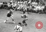 Image of exhibition match Monticello New York USA, 1954, second 55 stock footage video 65675062764