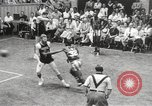 Image of exhibition match Monticello New York USA, 1954, second 57 stock footage video 65675062764
