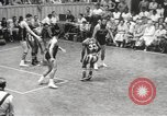 Image of exhibition match Monticello New York USA, 1954, second 61 stock footage video 65675062764