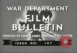Image of U.S. Army movies for soldiers during World War II United States USA, 1943, second 6 stock footage video 65675062805