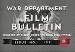 Image of U.S. Army movies for soldiers during World War II United States USA, 1943, second 12 stock footage video 65675062805