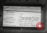 Image of U.S. Army delivering movies to troops during World War II United States USA, 1943, second 52 stock footage video 65675062807