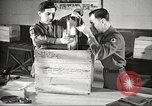 Image of U.S. Army delivering movies to troops during World War II United States USA, 1943, second 62 stock footage video 65675062807