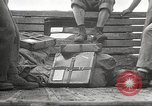Image of U.S. troops in combat zones watch movies in World War II Pacific theater, 1943, second 32 stock footage video 65675062808