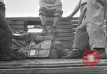 Image of U.S. troops in combat zones watch movies in World War II Pacific theater, 1943, second 33 stock footage video 65675062808