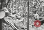 Image of U.S. troops in combat zones watch movies in World War II Pacific theater, 1943, second 36 stock footage video 65675062808
