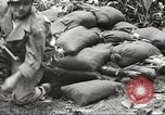 Image of U.S. troops in combat zones watch movies in World War II Pacific theater, 1943, second 39 stock footage video 65675062808