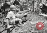Image of U.S. troops in combat zones watch movies in World War II Pacific theater, 1943, second 41 stock footage video 65675062808