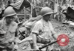 Image of U.S. troops in combat zones watch movies in World War II Pacific theater, 1943, second 43 stock footage video 65675062808