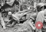 Image of U.S. troops in combat zones watch movies in World War II Pacific theater, 1943, second 45 stock footage video 65675062808