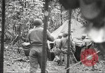Image of U.S. troops in combat zones watch movies in World War II Pacific theater, 1943, second 47 stock footage video 65675062808